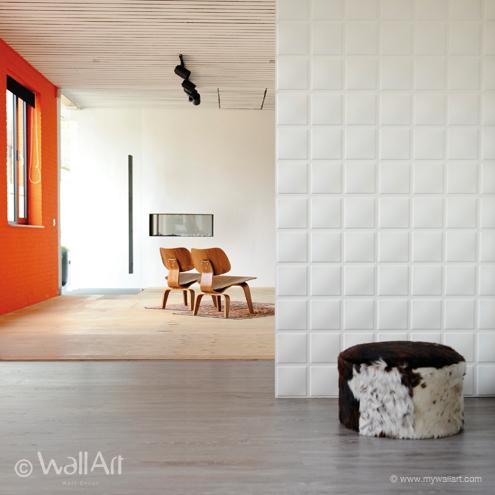 Cubes 3D Wallart falpanel