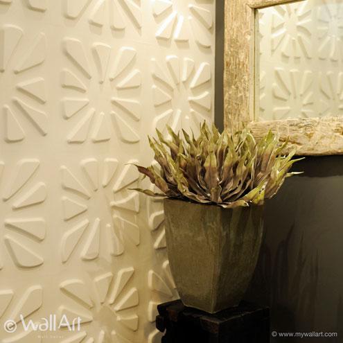 Caryotas WallArt 3D falpanel
