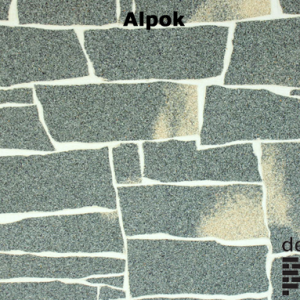 Delap Alpok hasított kő struktúra