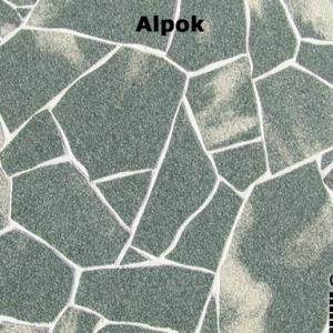 delap Alpok terméskő struktúra