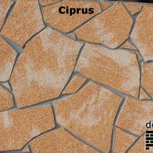 delap Ciprus terméskő struktúra