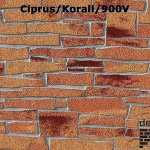 Delap Ciprus/korall/900v mini hasított kő struktúra