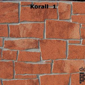 Delap korall 1 hasított kő struktúra
