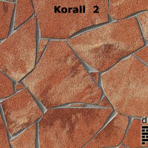 delap Korall 2 terméskő struktúra