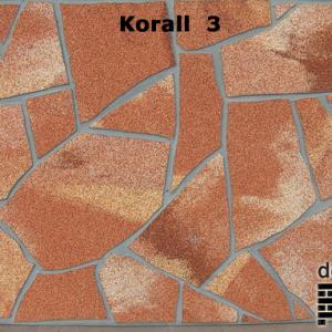 delap Korall 3 terméskő struktúra