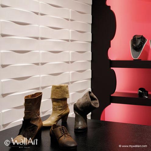 3D-Wallpanel-Wallart-Vaults
