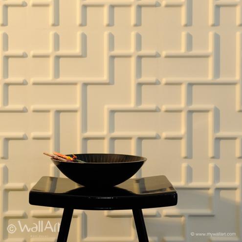 Tetris WallArt 3D falpanel